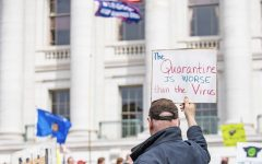 """Wisconsinites Protest Against Governor Evers' """"Safer at Home"""" Order"""