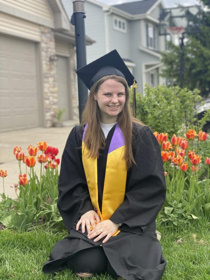 Congratulations Angi! Angi is a 2020 DeForest Area High School graduate, here on an exchange program trip from Heilbronn, Germany